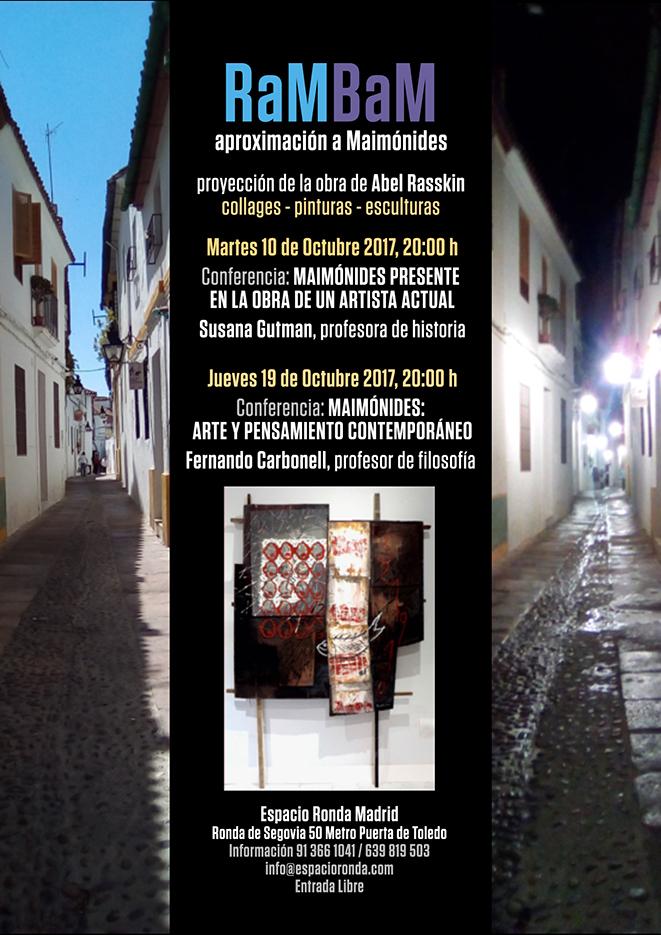 Conferencia y proyección: Maimónides presente en la obra de un artista actual