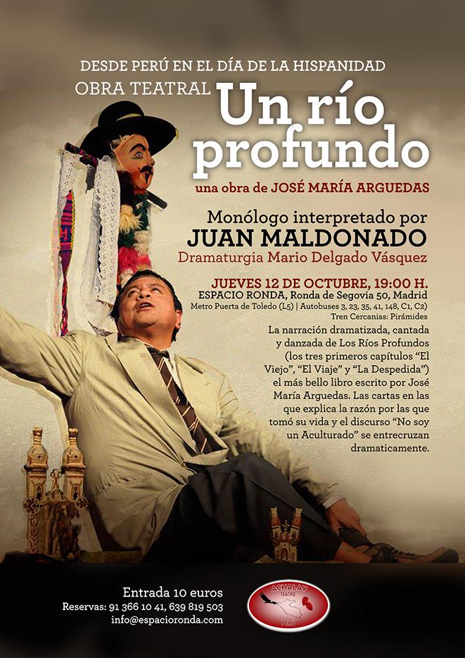 """Obra de teatro de José María Arguedas """"UN RIO PROFUNDO"""""""