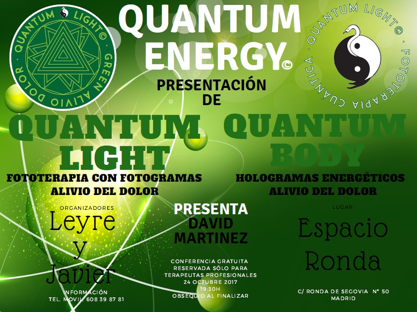 "Presentación de ""Quantum Energy"""