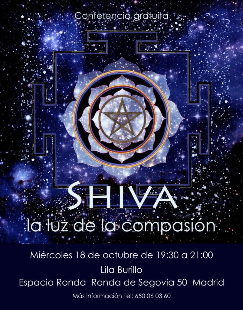"""Conferencia gratuita """"Shiva, la luz de la compasión"""""""