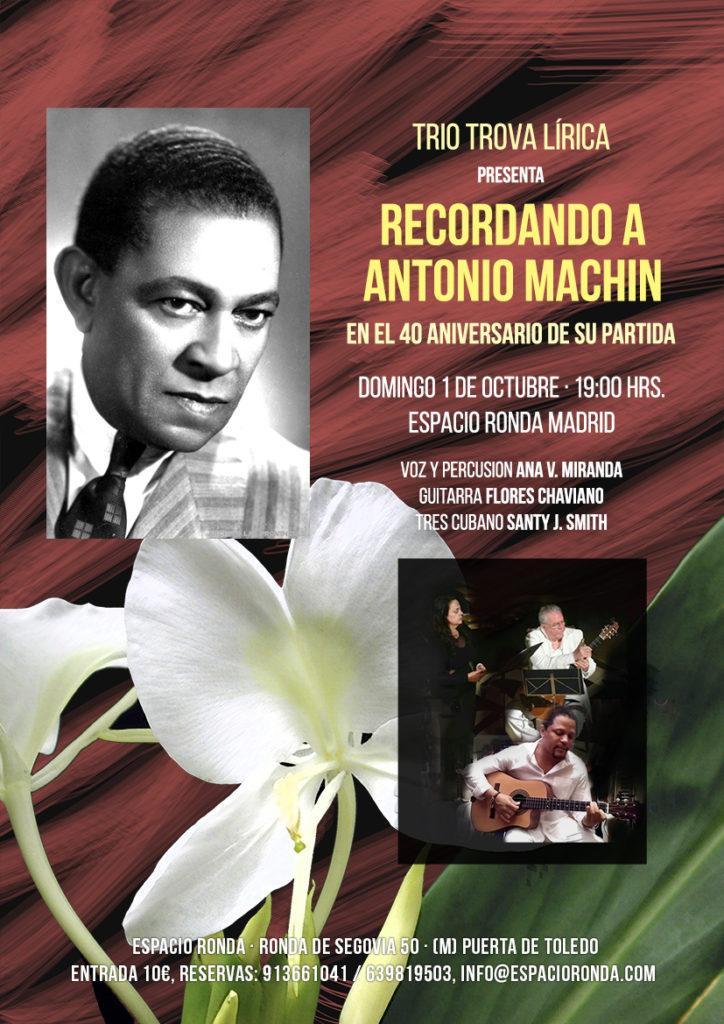 """Trio Trova Lírica presenta """"Recordando a Antonio Machín"""""""