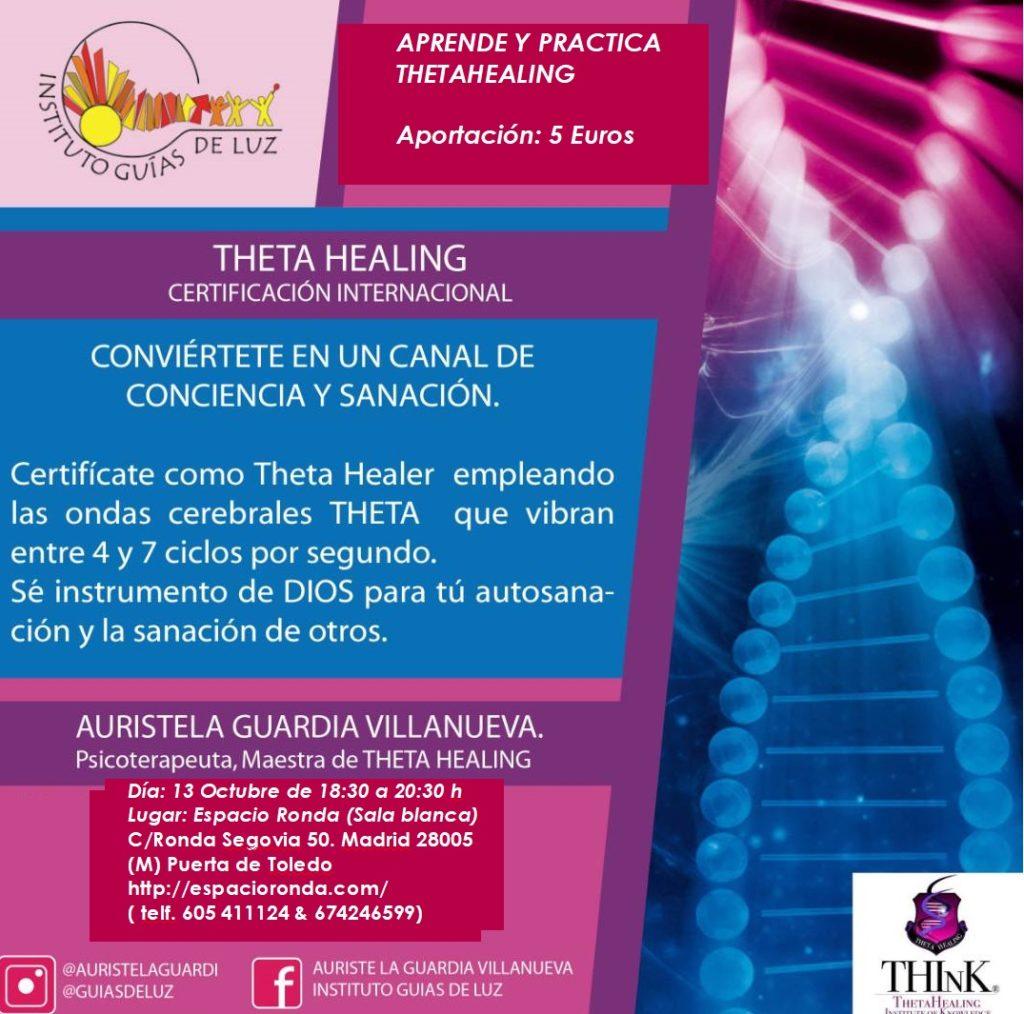 Aprende y practica ThetaHealing