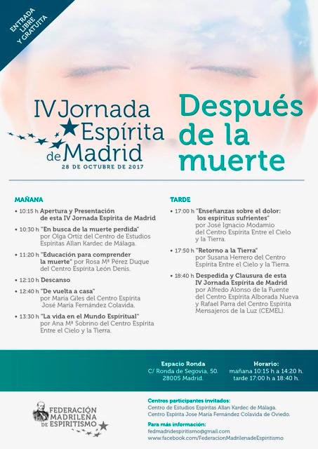 IV Jornada Espírita de Madrid