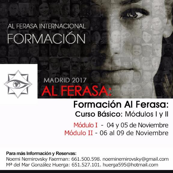 Formación Al Ferasa 2017 Madrid Módulo I