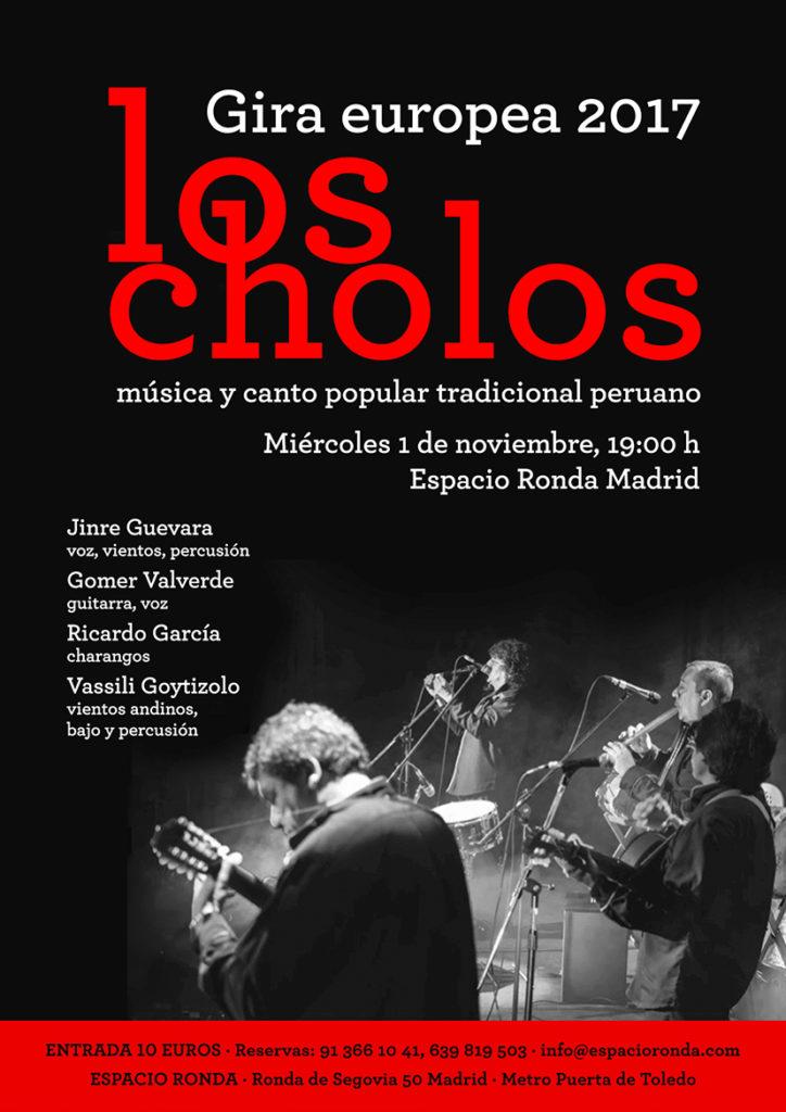 Los Cholos. Música y canto popular tradicional peruano