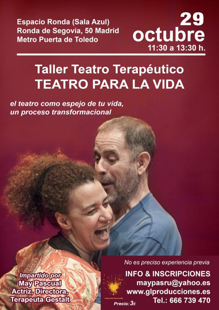 "Taller Teatro Terapéutico ""Teatro para la vida"""