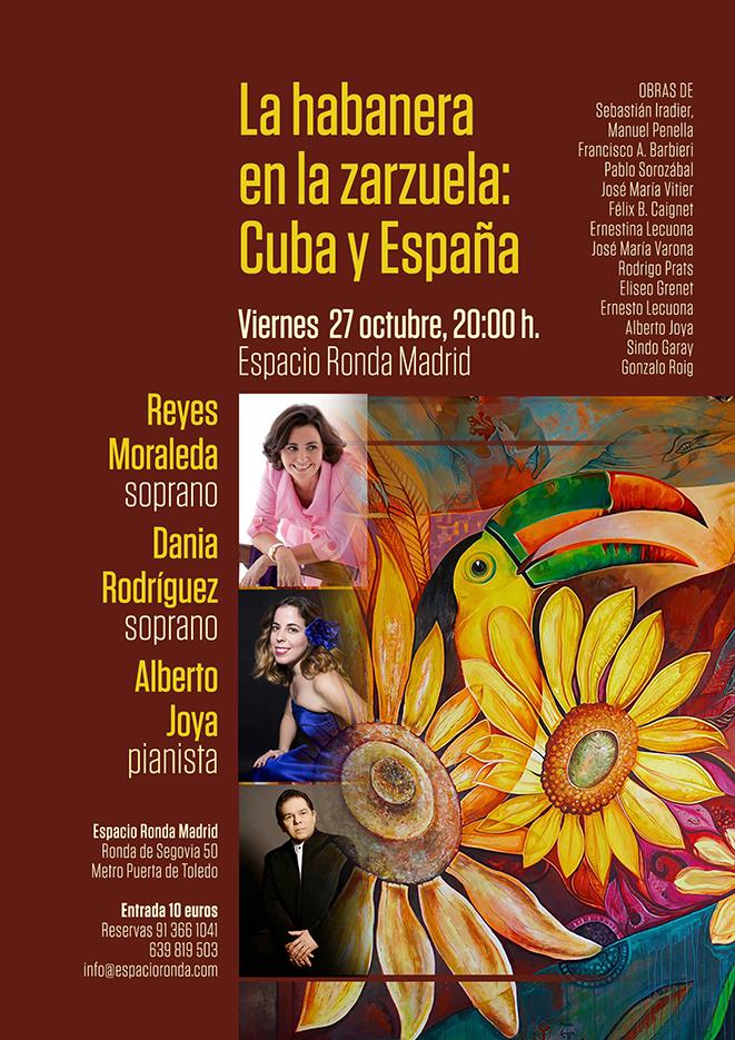 La habanera en la zarzuela: Cuba y España