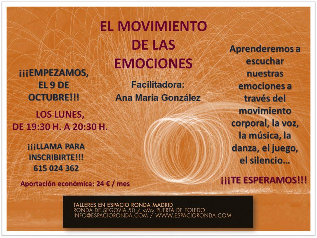 """Comienzo del taller """"El movimiento de las emociones"""""""