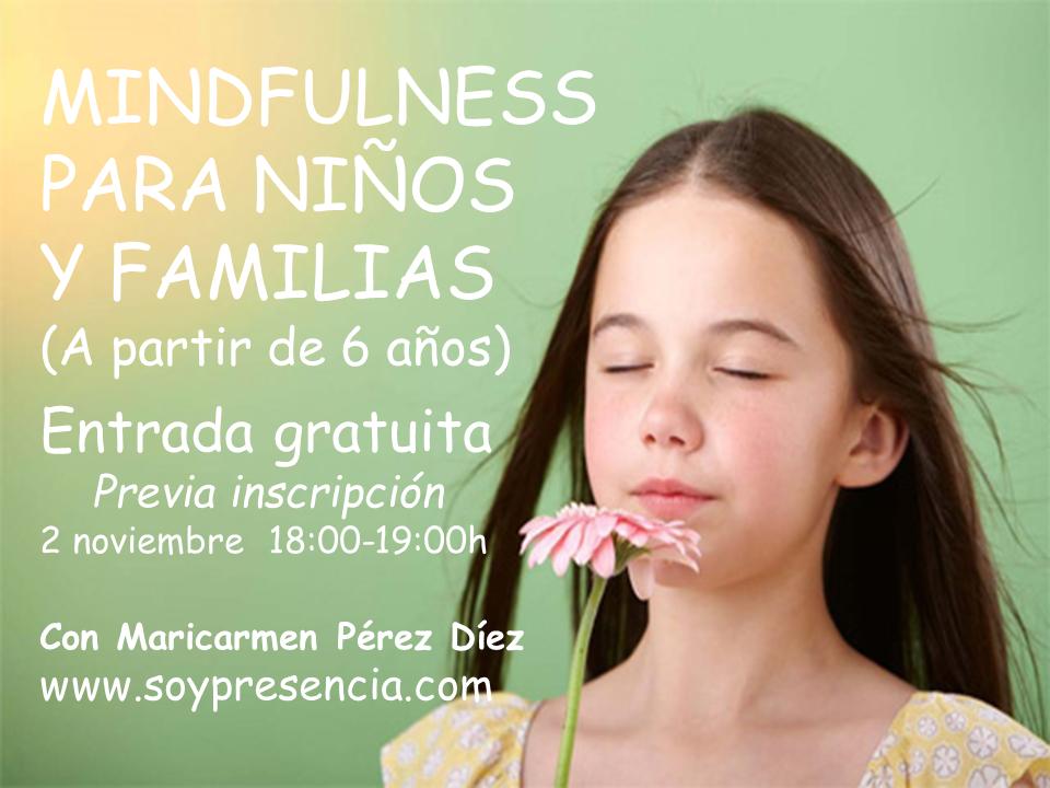 Mindfulness para niños y familias