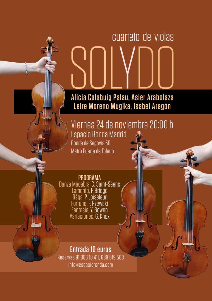 Concierto del Cuarterto de Violas SOLyDO