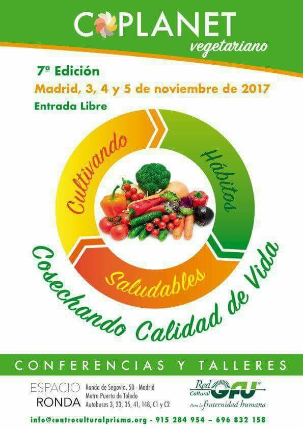 Coplanet vegetariano 7ª Edición 2017
