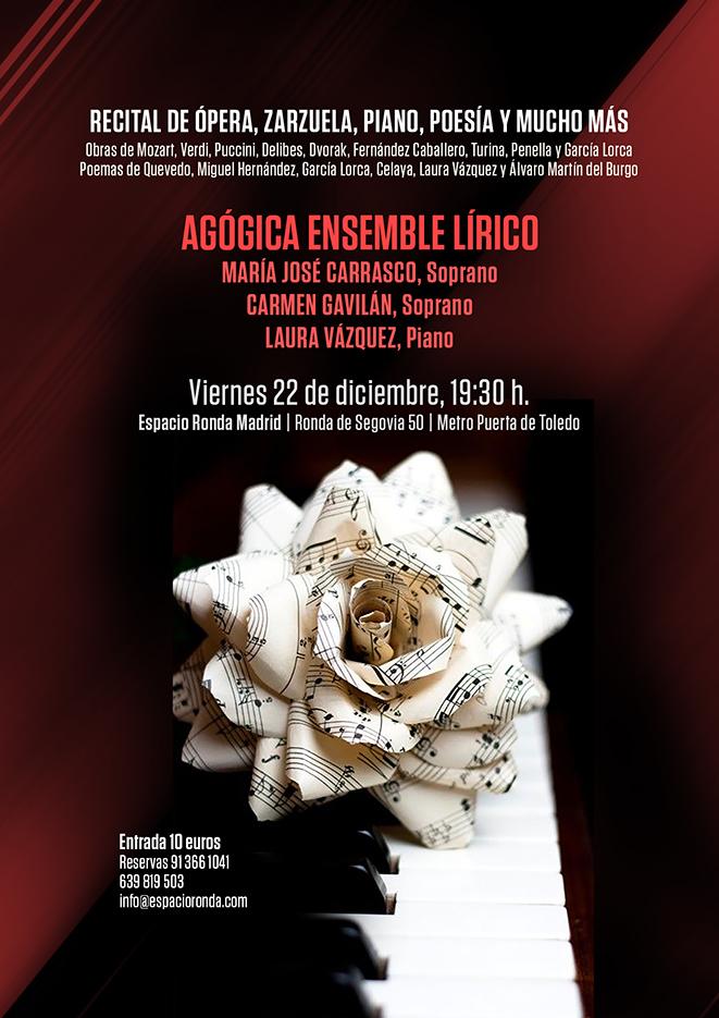 Recital de Ópera, Zarzuela, Piano, Poesía y mucho más