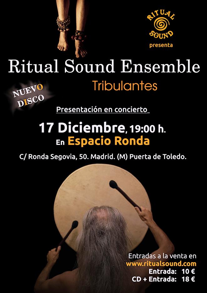"Ritual Sound Ensemble presenta el nuevo disco ""Tribulantes"""