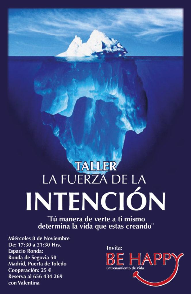 """Taller """"La fuerza de la intención"""""""