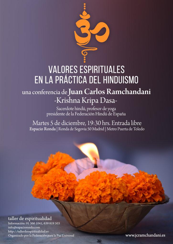 """""""Valores espirituales en la Práctica del Hinduismo"""""""