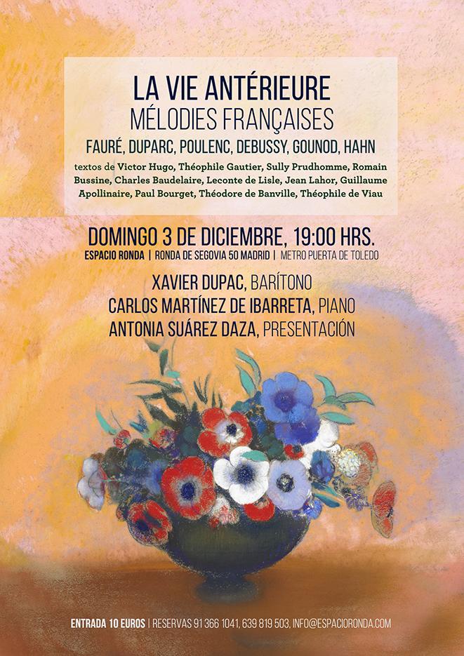La vie antérieure - Mélodies françaises