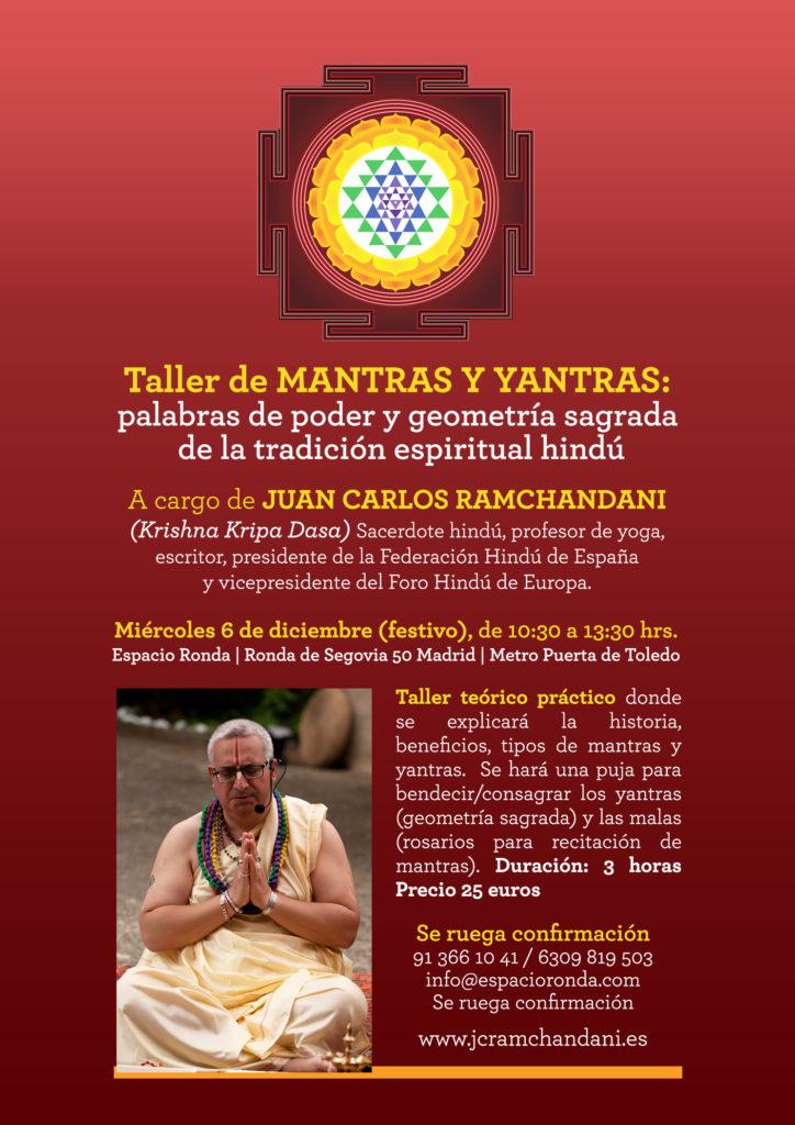 Taller de Mantras y Yantras