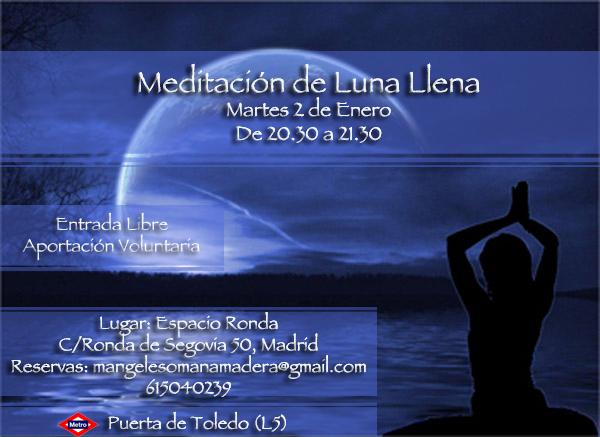 Meditación de Lune Llena