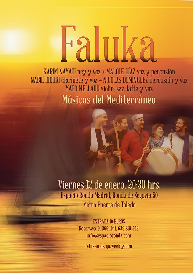 FALUKA: Músicas del Mediterráneo