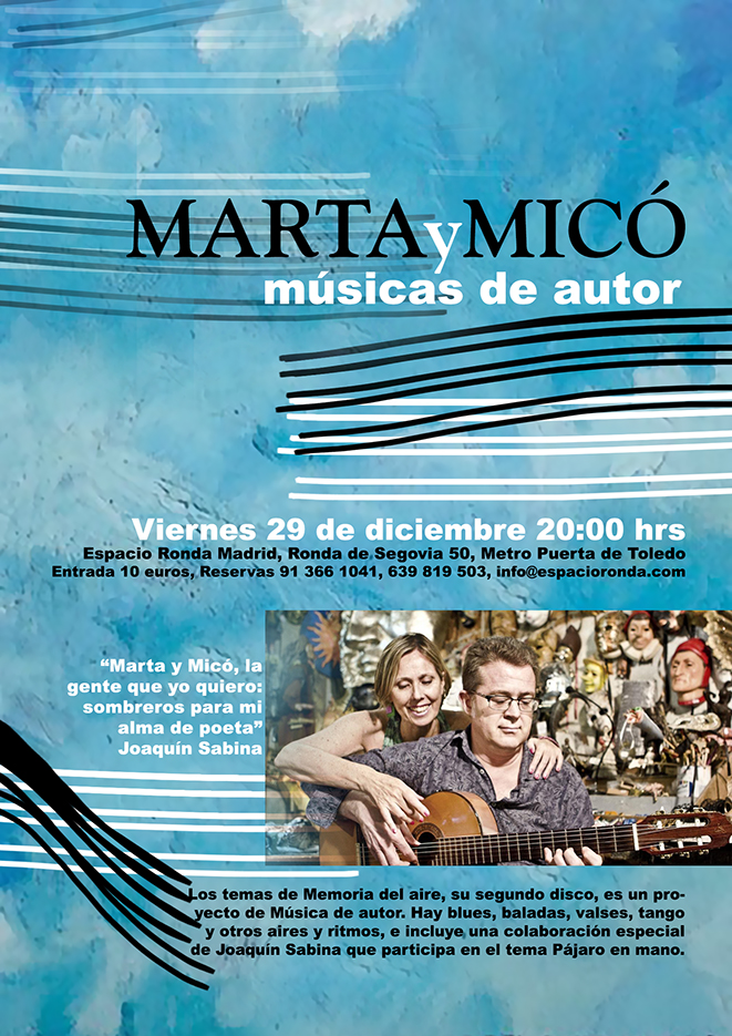 MartayMicó, músicas de autor