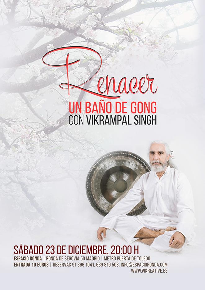 """Baño de Gong """"RENACER"""""""