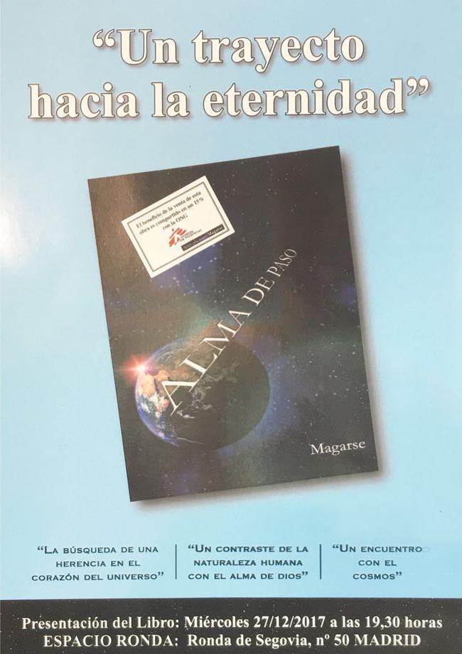 """Presentación del Libro """"Un trayecto hacia la eternidad"""""""