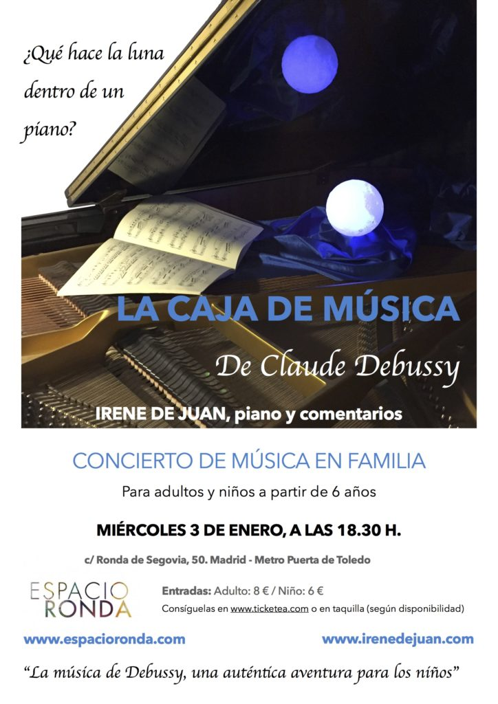 """""""La Caja de Música"""" de Claude Debussy"""