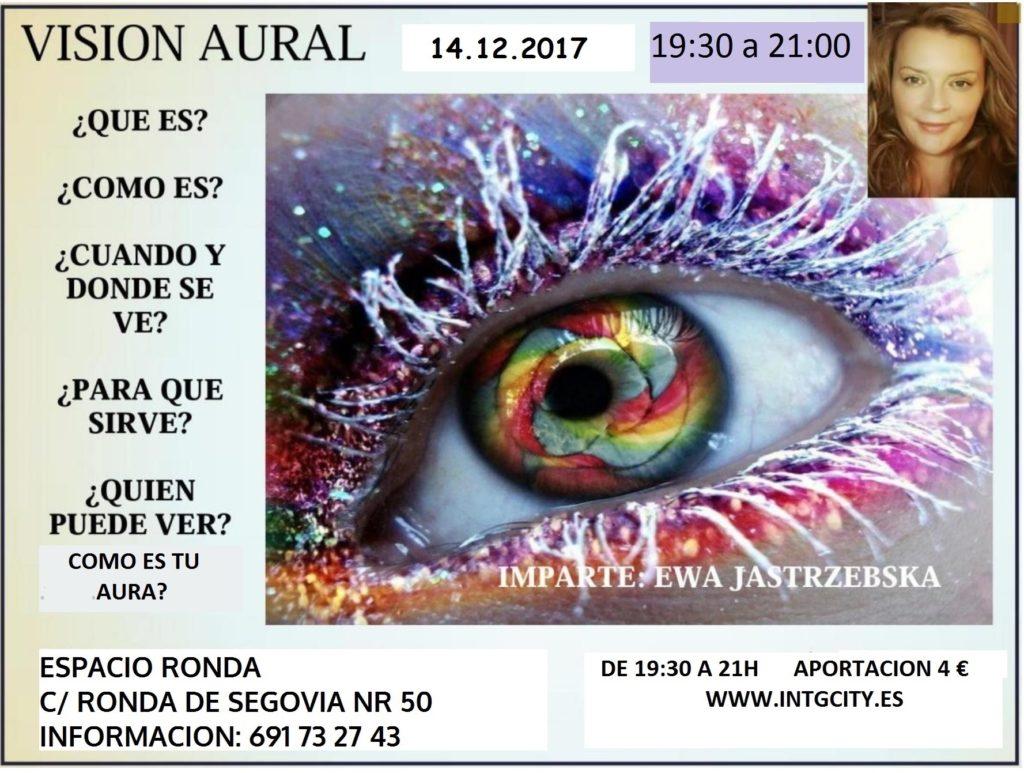 """Conferencia """"Visión Aural"""""""