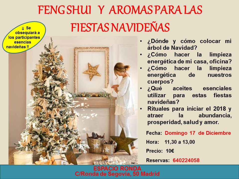Feng Shui y aromas en las fiestas navideñas