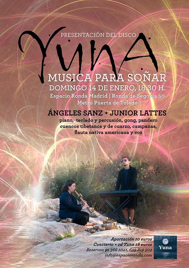 Concierto presentación del cd YUNA, MÚSICA PARA SOÑAR
