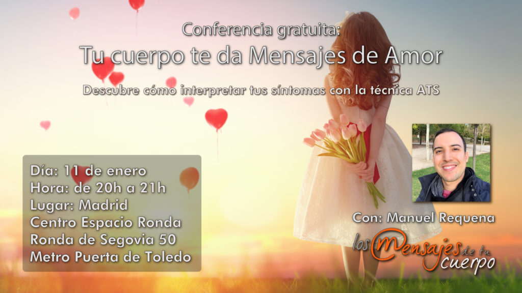 """""""Tu cuerpo te da Mensajes de Amor"""" con Manuel Requena"""