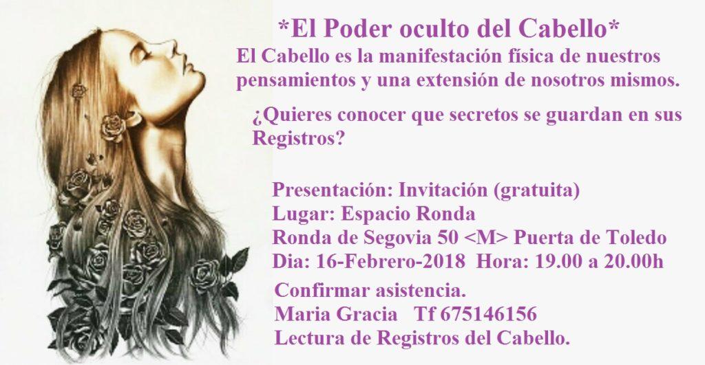 """Presentación """"El Poder oculto del Cabello"""""""