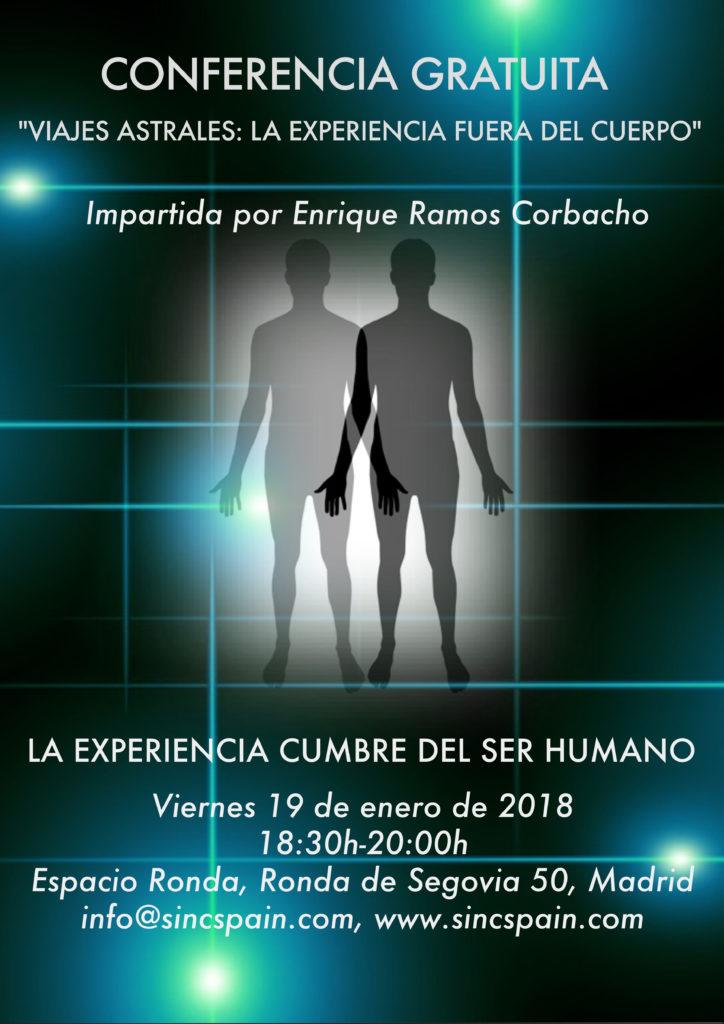 """Conferencia """"La experiencia fuera del cuerpo"""""""