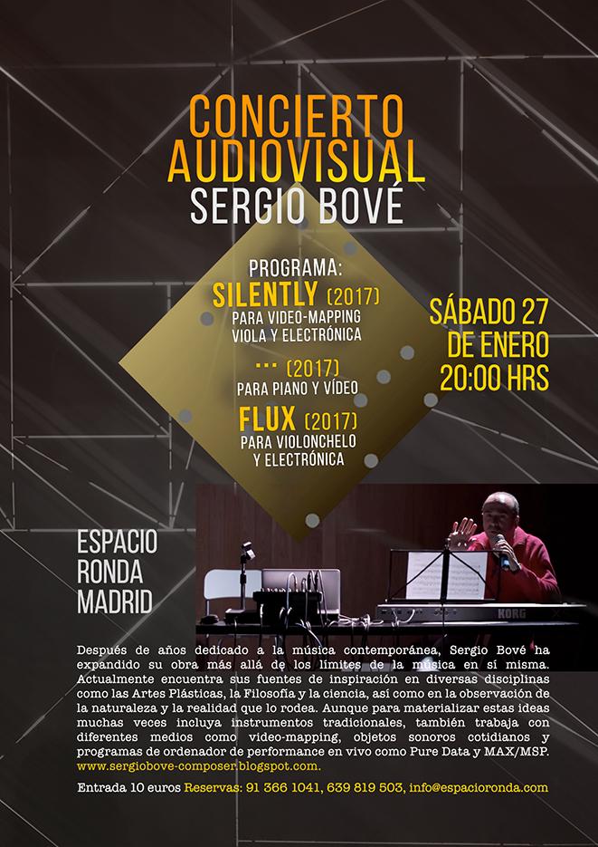 Concierto Audiovisual con Sergio Bové