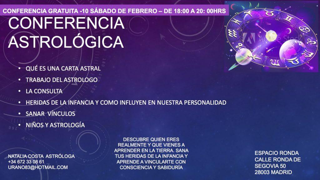 Conferencia Astrológica