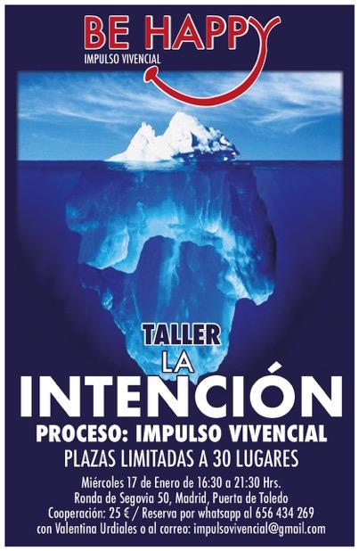 """Taller """"La intención"""""""