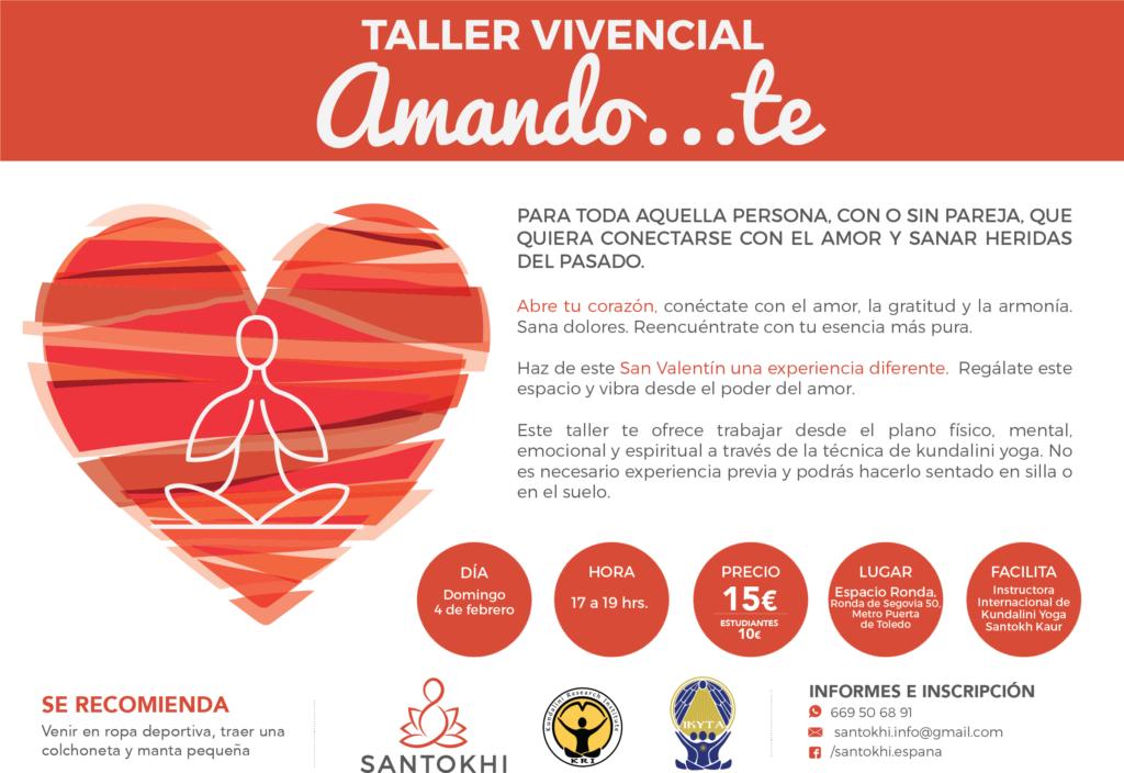 """Taller Vivencial """"Amando...te"""""""