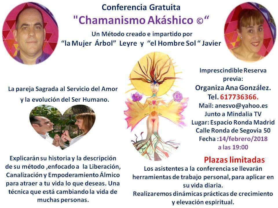 "Conferencia Gratuita ""Chamanismo Akáshico ©"""