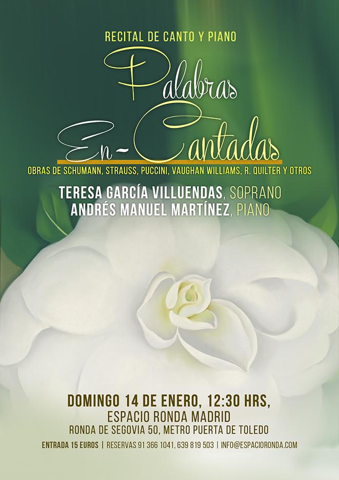 """Recital de Canto y Piano """"Palabras En-Cantadas"""""""