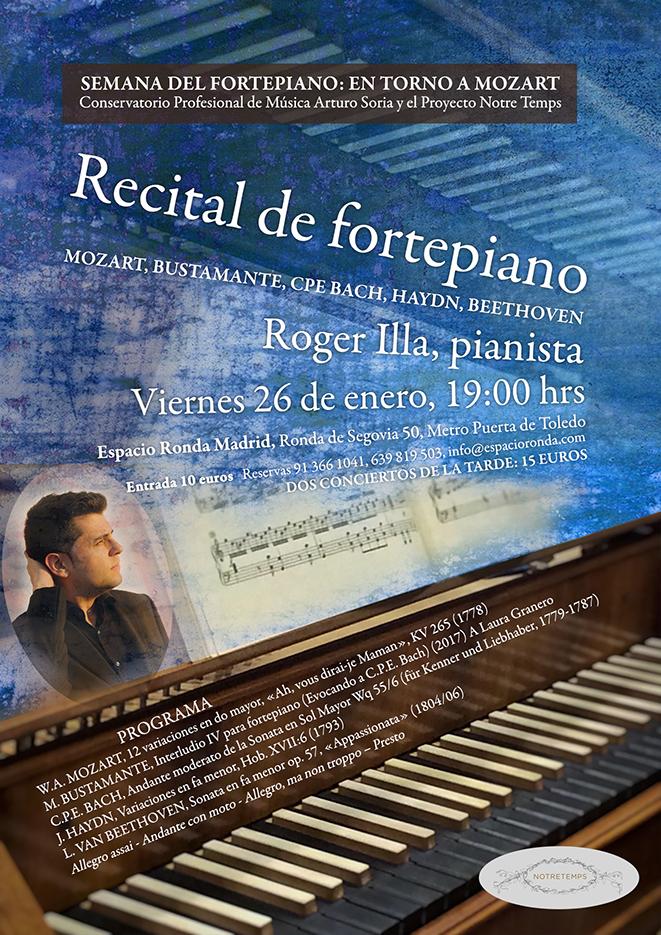 Recital de Fortepiano con Roger Illa