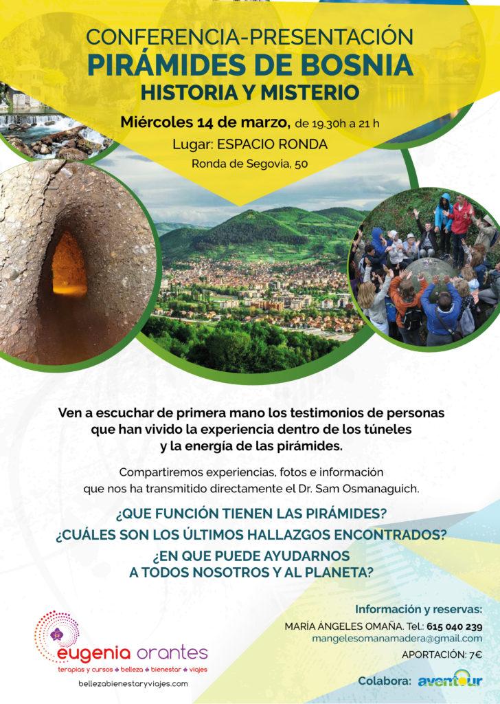"""Conferencia-Presentación """"Pirámides de Bosnia. Historia y Misterio"""""""