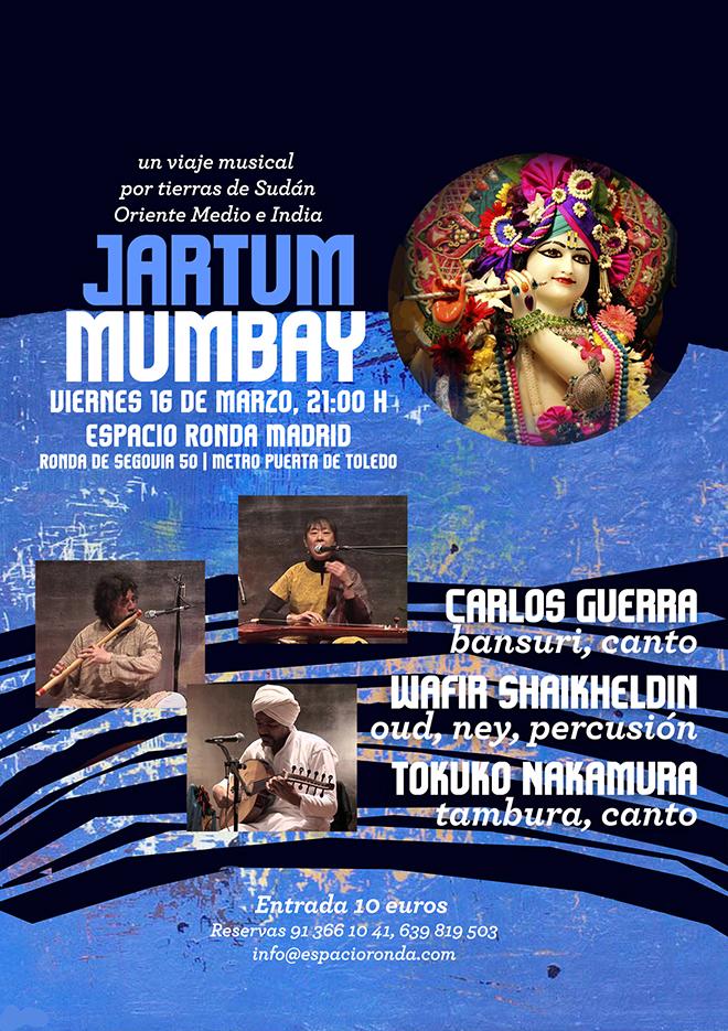 Jartum Mumbay. Un viaje musical por tierras de Sudán, Oriente Medio e India