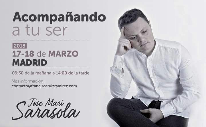 """Taller """"Acompañando a tu ser"""" con Jose Mari Sarasola"""