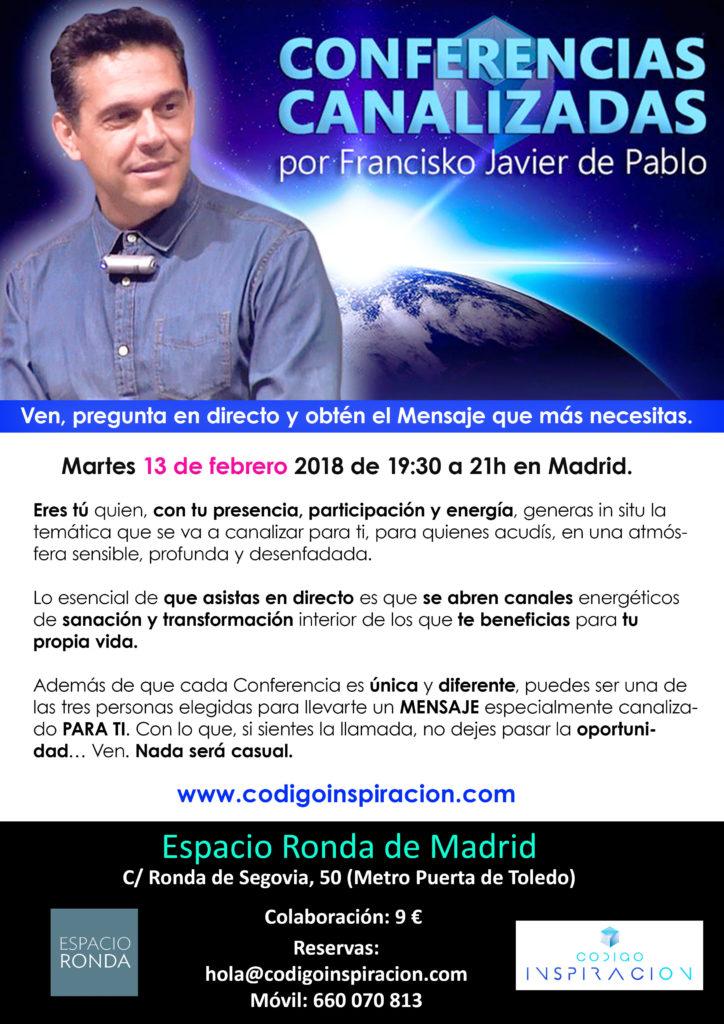 Conferencia Canalizadas por Francisko Javier de Pablo