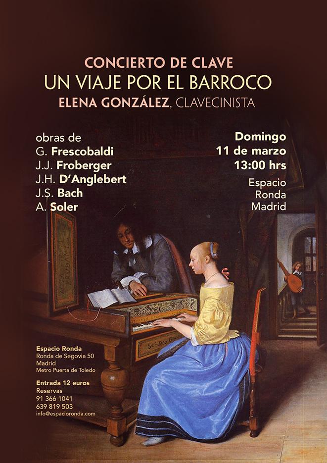 """Concierto de Clave """"Un viaje por el Barroco"""""""