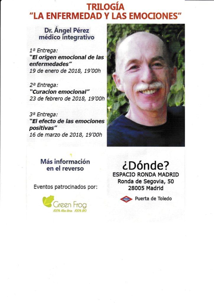 """Trilogía La enfermedad y las emociones - 2ª Entrega """"Curación emocional"""""""