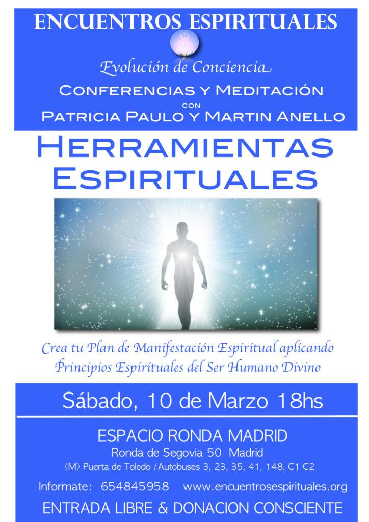 """Conferencia """"Herramientas Espirituales"""""""