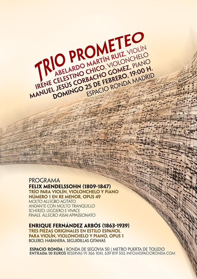 Trío Prometeo en concierto