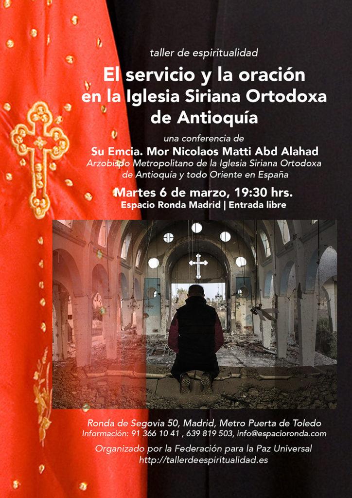 El servicio y la oración en la Iglesia Siriana Ortodoxa de Antioquía