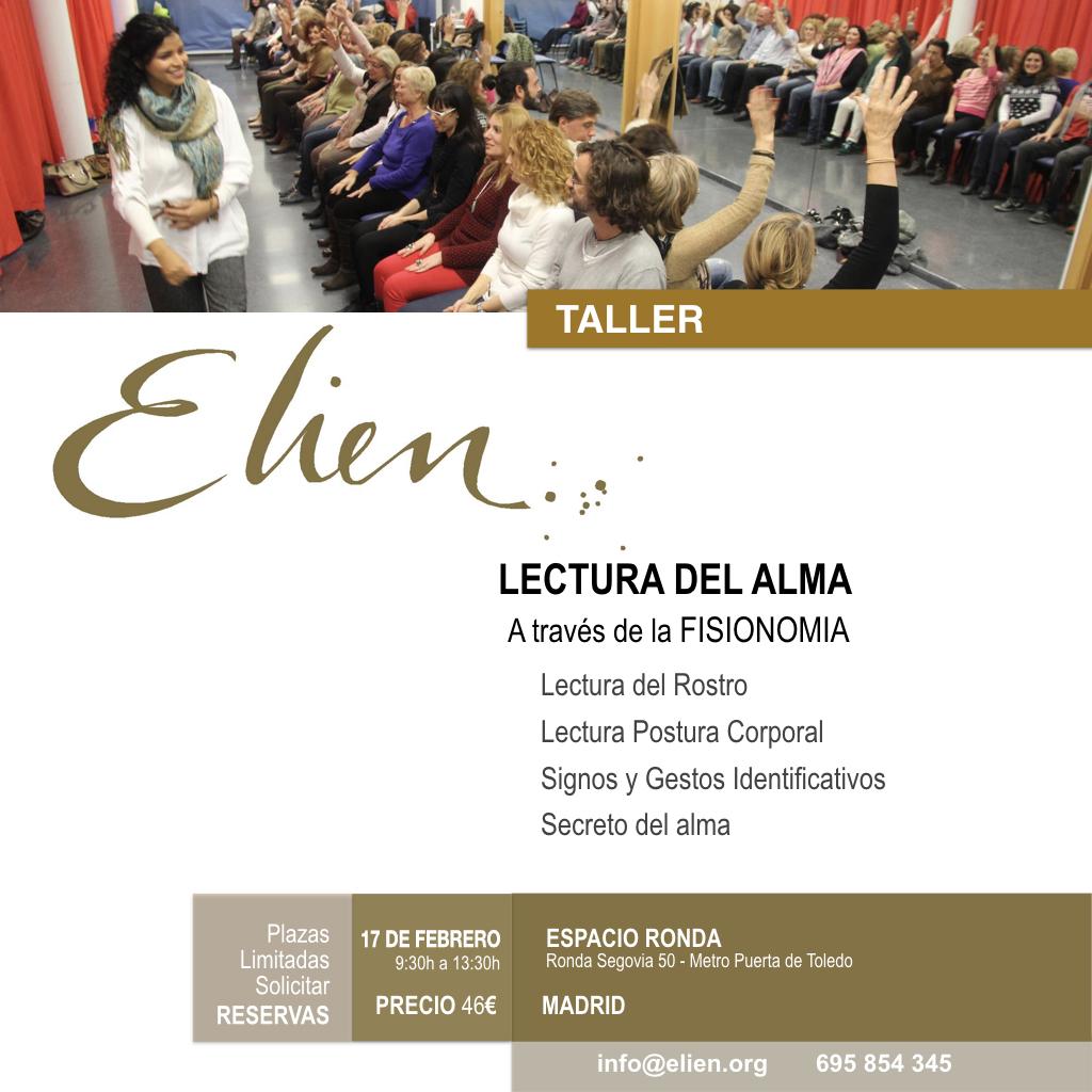 "Taller ""Lectura del Alma"" con Elien"